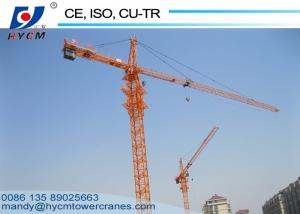 China USA and Mexico Hot Sale 6ton QTZ5015 Topkit Tower Crane with Class H Motor Protection on sale