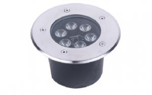 China 6W Waterproof Indoor LED Downlights / Led Underground Lamp Corrosion Resistance on sale