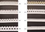 服装の総合的な波によって編まれる印刷された衣類の伸縮性があるレース リボンおよびテープ