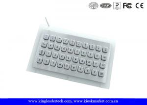 China Vandal Proof IP65 Mini USB full metal keyboard for Self Service Terminal on sale