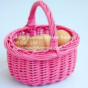 China 2016 wicker food basket bread basket fruit basket with handle on sale