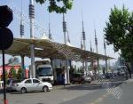 Security Space Frame Steel Structure Truss Purlin of Toll Station
