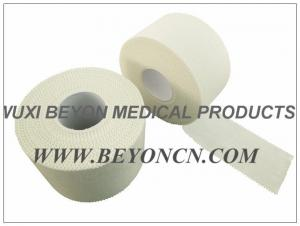 China Cotton Fabric Sports Strapping Tape With Hot Melt Adhesive Latex Free For Athletes on sale