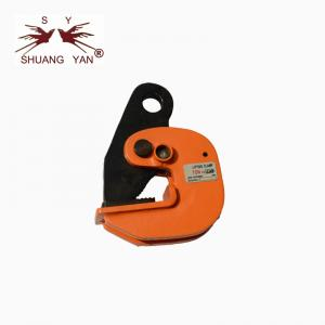 China Opening Size 0-25mm Steel Lifting Clamp , Metal Lifting Clamps Wide Beam Flange on sale