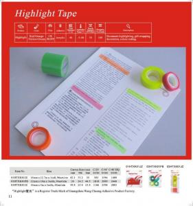 China Highlight Tape on sale