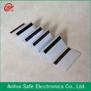 China smart printable inkjet HICO magnetic stripe pvc card on sale