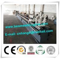 High Speed Pipe CNC Plasma Cutting Machine For Tube , Cnc Horizontal Lathe Machine
