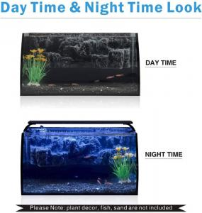 China Hygger Small Fish Tank With Light And Filter on sale