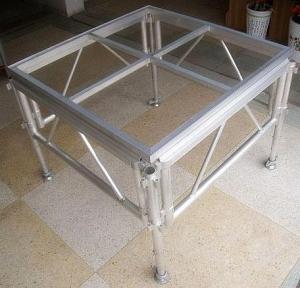 China Glass Acrylic Stage Platform / Folding Aluminum Stage Platform on sale