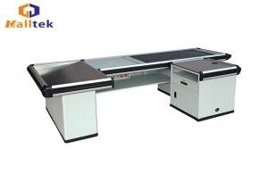 China Motorized Cash Register Counter Stand Commercial Retail Counters 2300*1100*870mm on sale