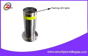 China Rugged Automatic Retractable Security Bollards / Hydraulic Rising Bollards For Bank on sale