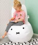 Miffy kids beanbag cover lounger beanbag shell refilling washable with innerbag