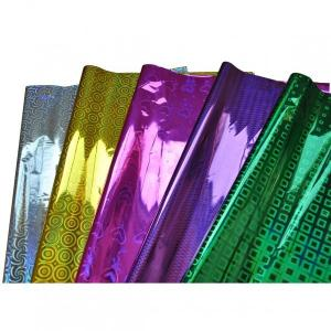 China Holographci personalized premium Gift Wrapping Paper , christmas wrap Tissue paper on sale