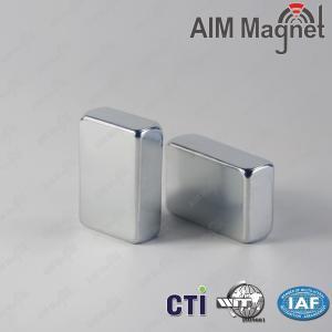 "China 3/16"" x 1/8 "" x 1/16"" N52 Strong Block Neodymium Magnet on sale"