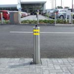 Hydraulic Rising Road Blockers Automatic Security Electric Trafict Lifing Bollards