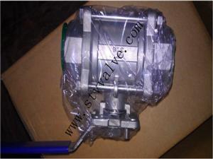 China almofada de montagem 1000psi da válvula de bola 3pc rosqueada on sale