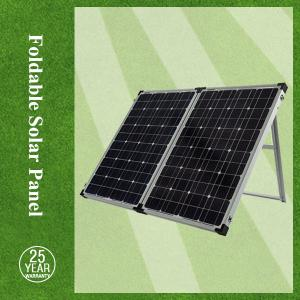 China Mono foldable solar panels / portable mono solar panel charger 100w for the EU & USA market on sale