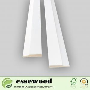 China Finger joint wood door cashing on sale