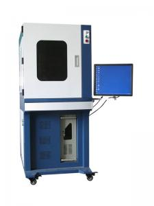 China Decorate / Ornament Automatic Uv Laser Engraving Equipment with Desktop on sale