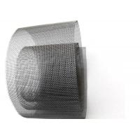Bright Pure Tungsten Wire Cloth , Metal Wire Mesh Screen For Vacuum Furnace