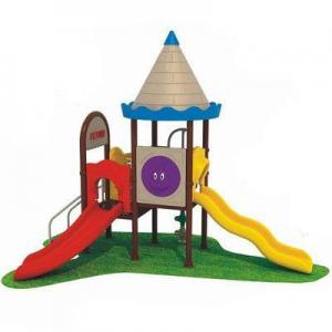 China Engineering Plastic Outdoor Playground AM-1676A on sale