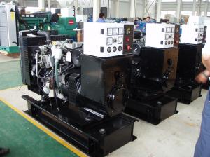 China 1004TG Lovol Engine 3 Phase Diesel Generator Low Fuel Consumption Turb Intake Type on sale