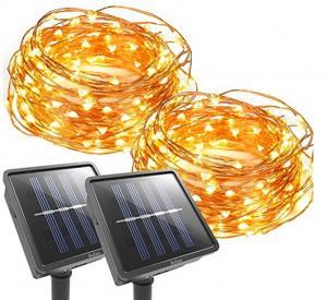 Popular Decorative Solar Lights Outdoor Christmas Lighting In The
