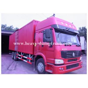 China HW70 cab heavy cargo truck in transportation 336HP with 6x4 driving wheel on sale