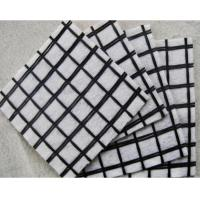 Non - Woven Geosynthetic Materials Compound With Plastic / PP Biaxial Geogrid
