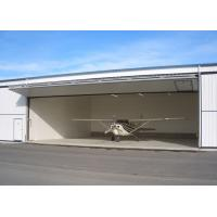 China Large Pre Manufactured Steel Structure Hangar Aircraft Hangar Buildings on sale