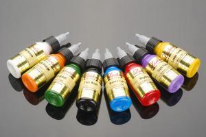 China Economic Sterile Permanent Makeup Tattoo Inks / Skin Pigment Tattoo Ink on sale