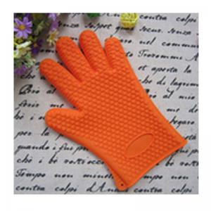 China silicone insulation mitts ,silicone anti scald kitchen gloves on sale