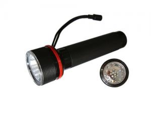 China Energy saving Abs color 220v rechargeable red line 4pcs led waterproof flashlight on sale
