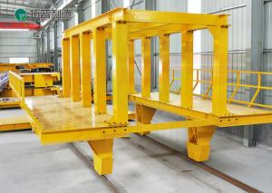China customized manual rail cart applied train railway with railings on sale