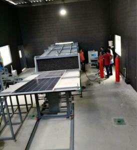 China UL 790  Quality  Flame & Burning Brand Materials Test Equipment for Solar Cell Spread Roof Coverings UL 1730 on sale