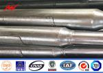SGS ISO approval golden manufacturer 5-20m bent street light poles