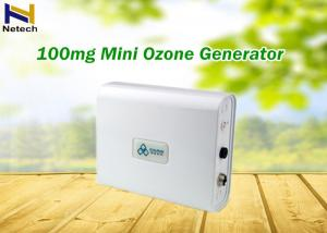 China Portable 100mg Electrical Ozone Generator Machine For Car Air Purity Chraming on sale
