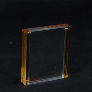 China Custom Size Picture Frames?Clear Surface PMMA  For Photo Display on sale