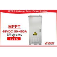Telecom Off Grid Solar DC 48v Power Supply SHW48400 Outdoor Installation