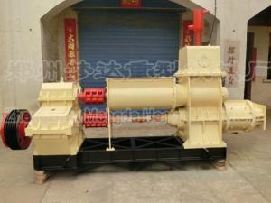 China China shale vacuum brick machine price in on sale