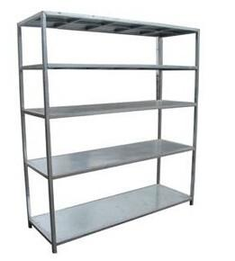 Quality Commercial Kitchen Five Tier Detachable Embly Stainless Steel Shelving Units For