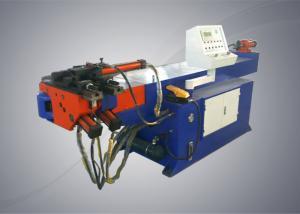 China Semi Automatic Mandrel Exhaust Bender , Single Head Aluminium Pipe Bending Machine on sale