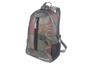 China Hiking Polyester Folding Kids School Mens Backpack Colorful Rose Flowers on sale