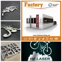 China Highly Speed Fiber Laser Cutting Machine For Stainless / Carbon Steel 500W on sale
