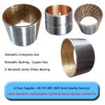 precio bimetálico bimetálico del comeptitve de la buena calidad de la fábrica de China del arbusto del buje del reborde de la manga del buje de steel+copper que forra