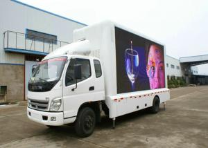 China Big Size P6 Truck Led Screen Commercial Advertising For Car / Van on sale
