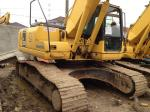 Japanese Used Crawler Excavator 3300hrs , Used Excavating Equipment Komatsu