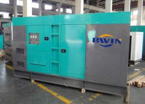 China WUXI Wandi engine Soundproof emergency power generators 400KW 500KVA on sale