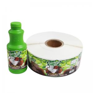 China Canned Food Labels Food Jar Seal Sticker Adhesive Paper Material For Decoration on sale