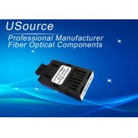 Single Mode 1X9 Optical Transceiver Duplex Fiber Optional Connectors 100KM